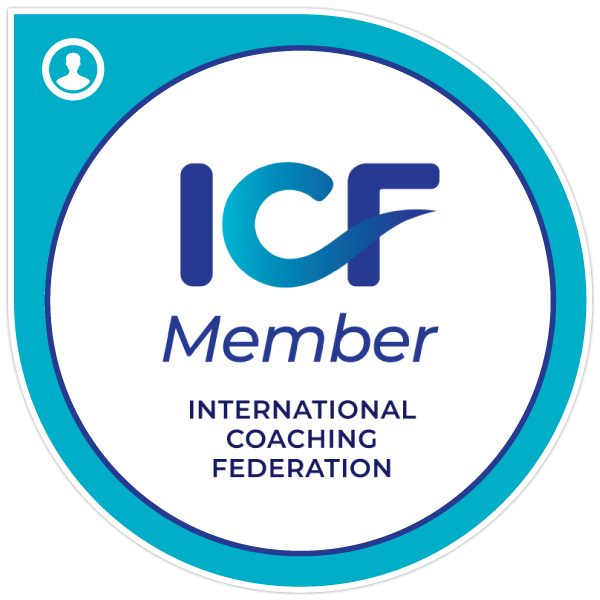 International Coaching Federation member badge